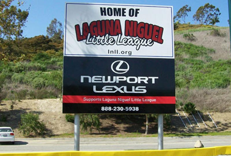 Custom Outdoor Panel And Post Signage Company In Orange